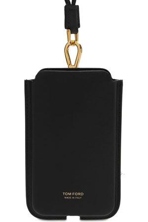 TOM FORD Miehet Puhelinkuoret - Logo Phone Cover W/neck Strap
