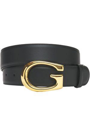 Gucci Miehet Vyöt - 4cm G Leather Belt