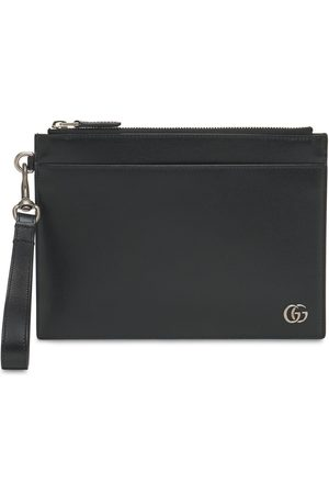 GUCCI Miehet Lompakot - Gg Marmont Leather Pouch