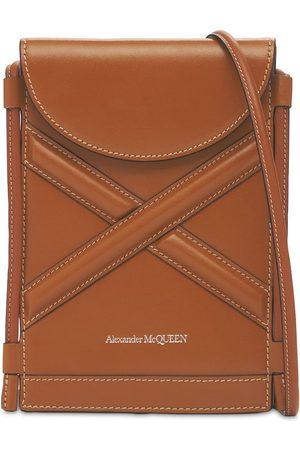ALEXANDER MCQUEEN Naiset Olkalaukut - The Curve Micro Leather Shoulder Bag