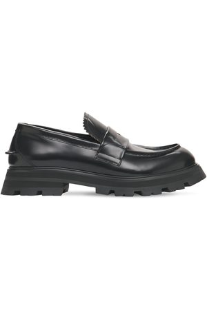 Alexander McQueen Miehet Loaferit - Brushed Leather Loafers