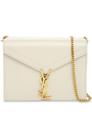 Saint Laurent Naiset Olkalaukut - Cassandra Leather Shoulder Bag