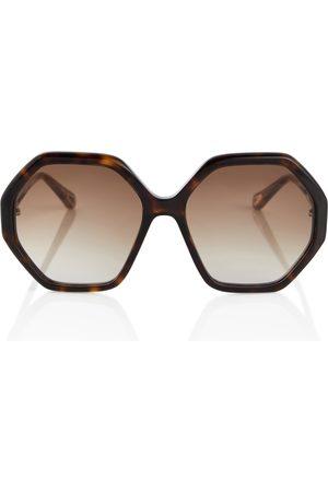 Chloé Esther hexagonal sunglasses