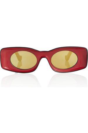 Loewe Naiset Aurinkolasit - Paula's Ibiza oval acetate sunglasses