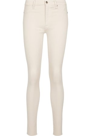7 for all Mankind Skinny Crop Slim Illusion jeans