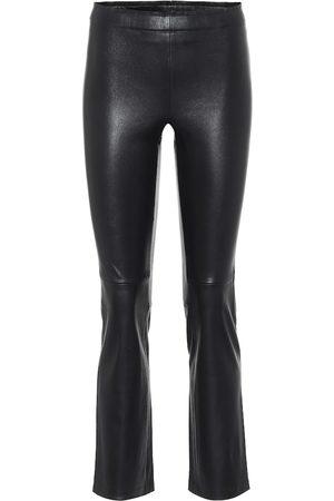 Stouls Naiset Nahkahousut - JP Twenty slim leather pants
