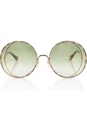 Chloé Round metal sunglasses