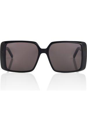 Saint Laurent Naiset Aurinkolasit - Square acetate sunglasses
