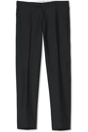 Oscar Jacobson Miehet Suorat - Devon Tuxedo Trousers Black