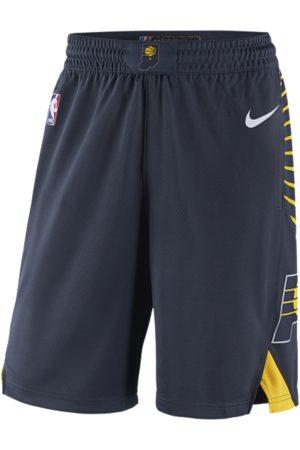 Nike Miehet Shortsit - Indiana Pacers Icon Edition Men's NBA Swingman Shorts - Blue
