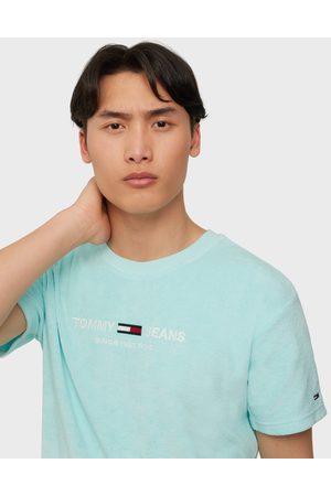 Tommy Hilfiger Tjm Toweling Tee T-paidat ja topit Blue