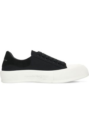 Alexander McQueen Miehet Tennarit - Canvas Low Top Sneakers
