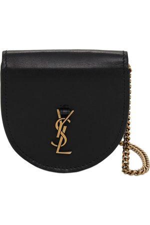 SAINT LAURENT Baby Kaia Leather Shoulder Bag