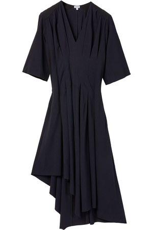Loewe Naiset Epäsymmetriset Mekot - Asymmetric Pleated Stretch Viscose Dress