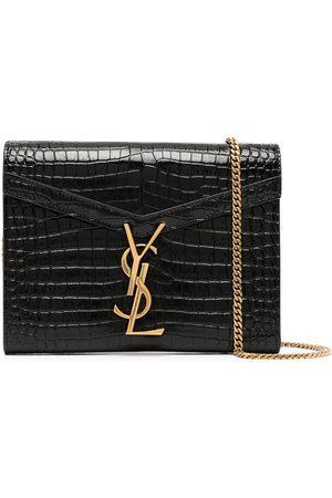 Saint Laurent Naiset Clutch laukut - Cassandra chain wallet bag