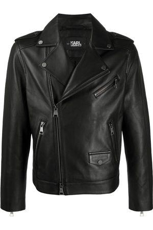 Karl Lagerfeld Ikonic leather biker jacket