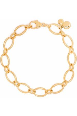 Dinny Hall Naiset Rannekorut - Handmade medium oval link chain bracelet