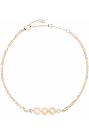 Dinny Hall Naiset Rannekorut - 14kt yellow opal and diamond bracelet