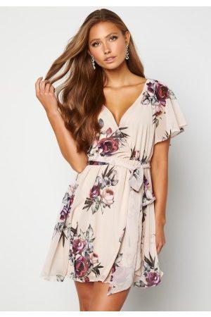 Goddiva Naiset Printtimekot - Floral Flutter Dress S (UK10)