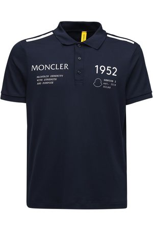 Moncler Genius Miehet Pikee - 1952 Cotton Piquet Polo