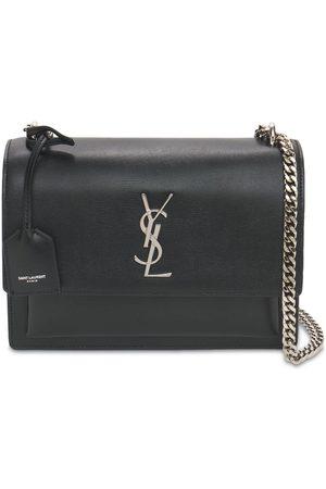 Saint Laurent Naiset Lompakot - Medium Sunset Leather Shoulder Bag