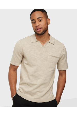 Only & Sons Miehet Pikee - Onsace Life 12 Slub Ss Polo Knit No T-paidat ja topit Pelican