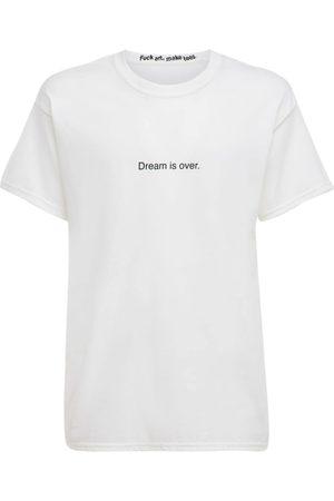 FAMT - FUCK ART MAKE TEES Miehet T-paidat - Dream Is Over Cotton T-shirt