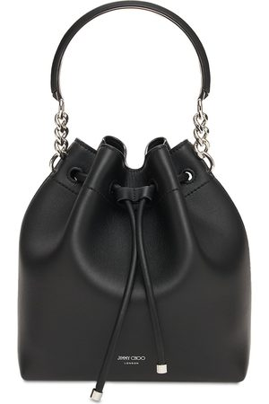 JIMMY CHOO Naiset Olkalaukut - Bon Bon Leather Bucket Bag