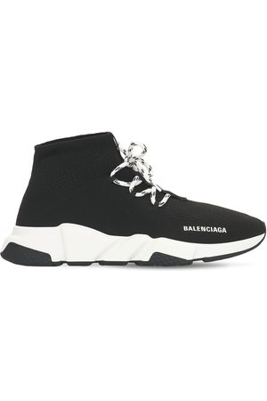 Balenciaga Speed Lace-up Tech Sneakers