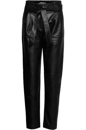 Just Female Naiset Nahkahousut - Nago Leather Trousers Leather Leggings/Housut