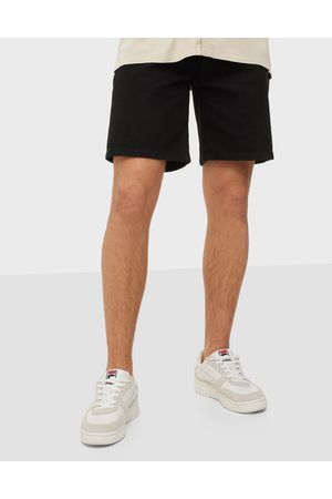 Woodbird Miehet Farkkushortsit - Doc Night Shorts Shortsit Black