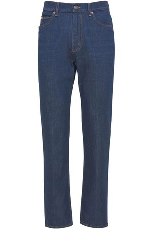 Gucci Washed Cotton Twill Denim Jeans