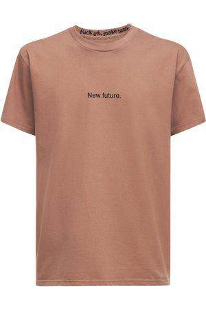 F.A.M.T. Miehet T-paidat - New Future Cotton T-shirt