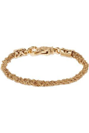 EMANUELE BICOCCHI Miehet Rannekorut - Crocheted Chain Bracelet