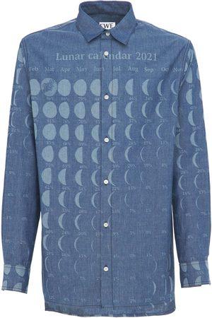 Loewe Miehet Paidat - Paula Moon Calendar Cotton Shirt