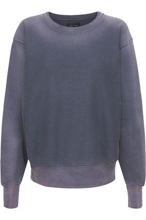 Les Tien Naiset Collegepaidat - Gradient Cotton Sweatshirt