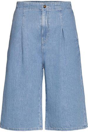 Samsøe Samsøe Naiset Farkkushortsit - Leila Shorts 13165 Shorts Denim Shorts