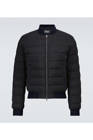 HERNO L'aviatore bomber jacket