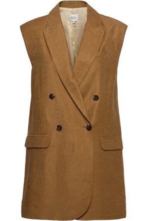 Second Female Naiset Liivit - Lia Waistcoat Vests Knitted Vests