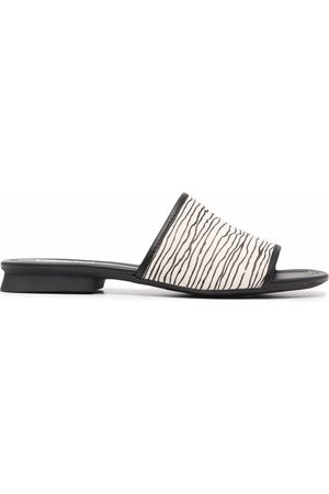 Camper Abstract-print open toe sandals