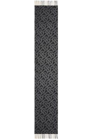 Burberry Huivit - Reversible check monogram-pattern scarf