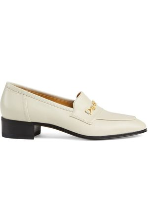 Gucci Naiset Loaferit - Horsebit block-heel loafers