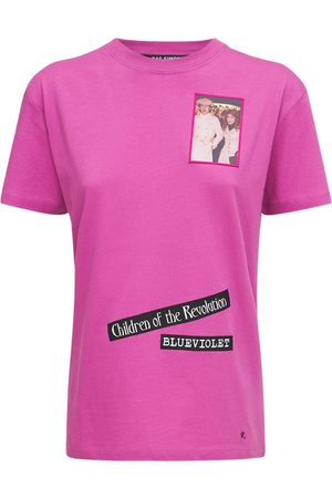 RAF SIMONS Cotton Jersey T-shirt W/ Front Patches
