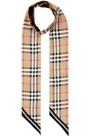 Burberry Huivit - Vintage Check skinny scarf