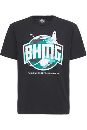 Bhmg Miehet T-paidat - Camo Logo Cotton T-shirt