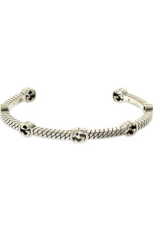 Gucci Thin Interlocking G Cuff Bracelet
