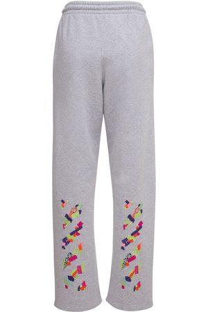 OFF-WHITE Naiset Collegehousut - Lvr Exclusive Cotton Printed Sweatpants
