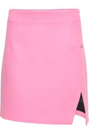 OFF-WHITE Naiset Minihameet - Lvr Exclusive Side Split Mini Skirt