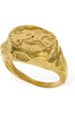 Alighieri Naiset Sormukset - Capricorn Signet Ring