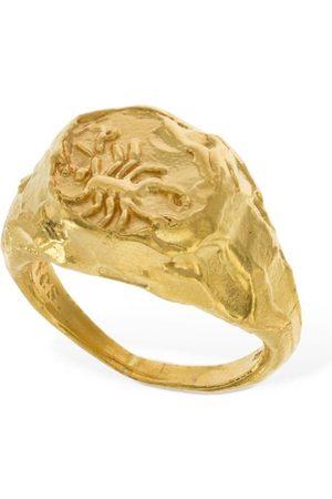 Alighieri Naiset Sormukset - Scorpio Signet Ring